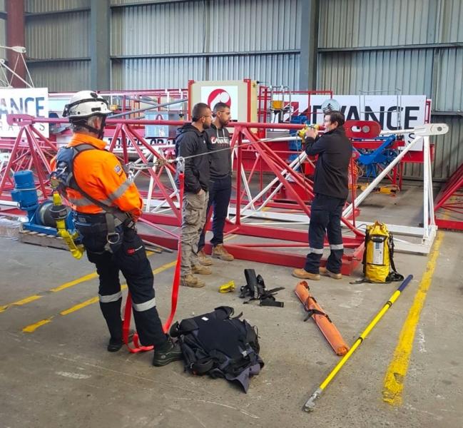 crane staff training at advance cranes - tower crane hire