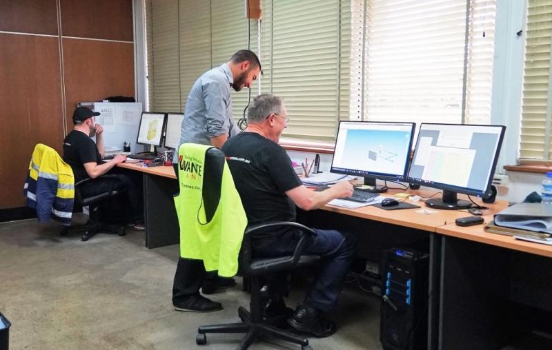 Advance cranes - engineering tower crane - crane equipment