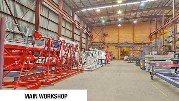 Tower Crane Storage